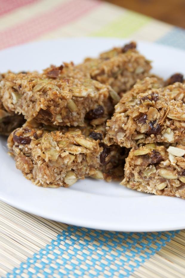 Nut or Allergy-Free Seedy Energy Bars in Skinny Dish!