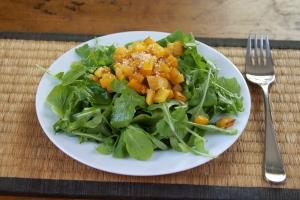 Arugula Salad in SKINNY DISH