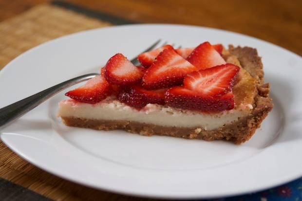 "Strawberry Lemon Tart from ""Skinny Dish!"""
