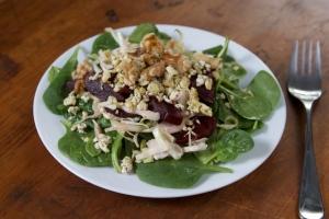Tofu Feta Salad